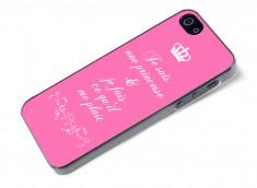 Coque iPhone 5/5S Je suis une princesse