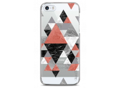 Coque iPhone 5C Geometric Collage Marble