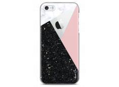 Coque iPhone 5C Diamond Collage Marble