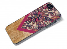 Coque iPhone 5/5S Graphic Wood-Modèle 2