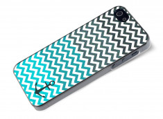 Coque iPhone 5/5S Blue Chevrons