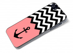 Coque iPhone 5/5S Pink Anchor