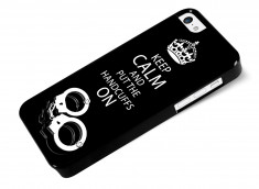 Coque iPhone 5C 50 Shades of Grey-Handcuffs