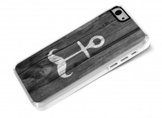 Coque iPhone 5C Moustache Anchor