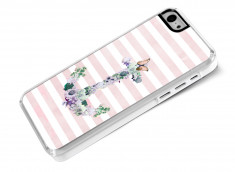 Coque iPhone 5C Flowers Anchor