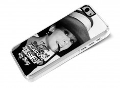 Coque iPhone 5C The Icons- Audrey Hepburn