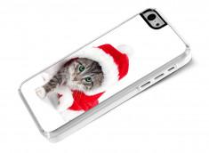 Coque iPhone 5C Christmas Cat