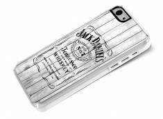 Coque iPhone 5C White Old Jack