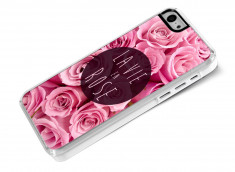 Coque iPhone 5C La Vie En Rose