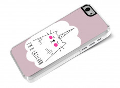 Coque iPhone 5C Caticorn
