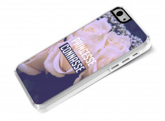 Coque iPhone 5C Princesse Connasse