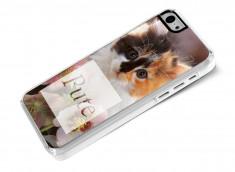 Coque iPhone 5C Dites-le avec des chatons- Pute