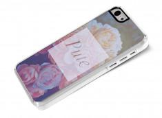 Coque iPhone 5C Dites-le avec des fleurs- Pute