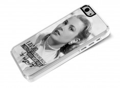 Coque iPhone 5C The Icons- Grace Kelly
