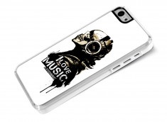 Coque iPhone 5 I Love Music