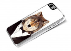 Coque iPhone 5C Smart Zoo- Loup