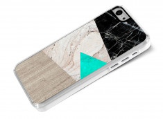 Coque iPhone 5C Marble and Wood