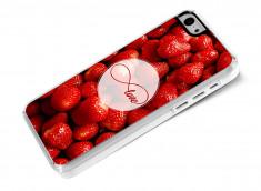 Coque iPhone 5C Infinity Love- Strawberry