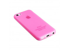 Coque iPhone 5C Silicone Opaque-Rose