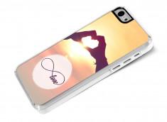 Coque iPhone 5C Infinity Love- Heart