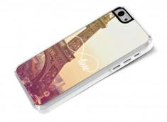 Coque iPhone 5C Infinity Love- Paris