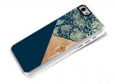 Coque iPhone 5C Graphic Wood-Modèle 1