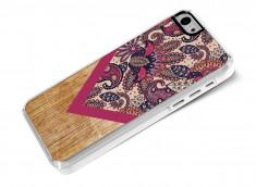 Coque iPhone 5C Graphic Wood-Modèle 2