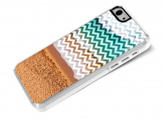 Coque iPhone 5C Chevrons Beach