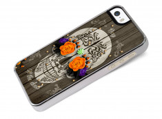 Coque iPhone 5/5S/SE Flowers Skull