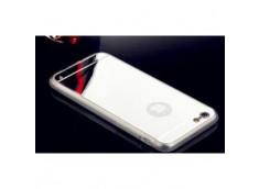 Coque iPhone 6 Plus/6S Plus Miroir Flex-Argent