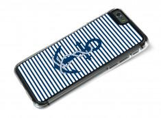 Coque iPhone 6 Plus Ancre et Marinière