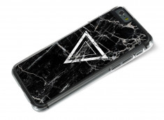 Coque iPhone 6 Plus Black Marble