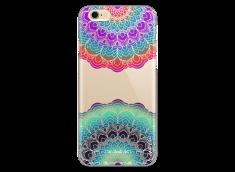 Coque iPhone 6/6S Cercles Multicolor Galaxy Mandala