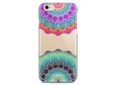 Coque iPhone 6Plus/6SPlus Cercles Multicolor Galaxy Mandala