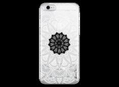 Coque iPhone 5/5s/SE Black Flower Mandala