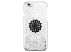 Coque iPhone 6Plus/6SPlus Black Flower Mandala