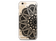 Coque iPhone 6/6S Black Lace Mandala