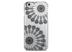 Coque iPhone 6/6S Black Stars Mandala