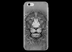 Coque iPhone 6/6S Black & White Lion Mandala