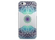 Coque iPhone 6Plus/6SPlus Blue Star Mandala