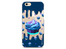 Coque iPhone 6/6S Blue Chocolate muffins pattern