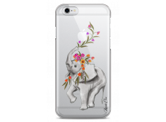 Coque iPhone 6 Plus /6S Plus Boho Elephant with flowers