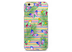 Coque iPhone 6Plus/6SPlus Multicolor watercolor butterflies