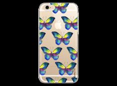 Coque iPhone 6/6S Watercolor butterflies pattern
