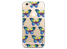 Coque iPhone 6Plus/6SPlus Watercolor butterflies pattern