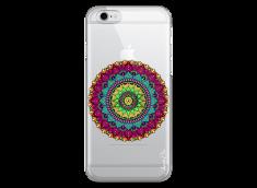 Coque iPhone 6/6S Multicolore Mandala