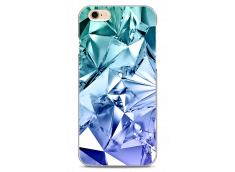 Coque iPhone 6Plus/6SPlus Blue cristal geometric design