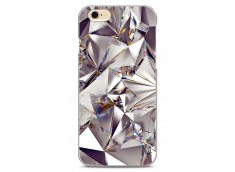 Coque iPhone 6/6S Purple cristal geometric design