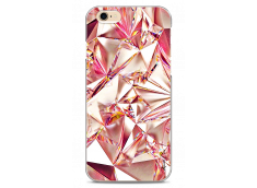 Coque iPhone 6/6S Pink cristal geometric design