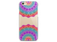 Coque iPhone 6/6S Double Multicolor Galaxy Mandala